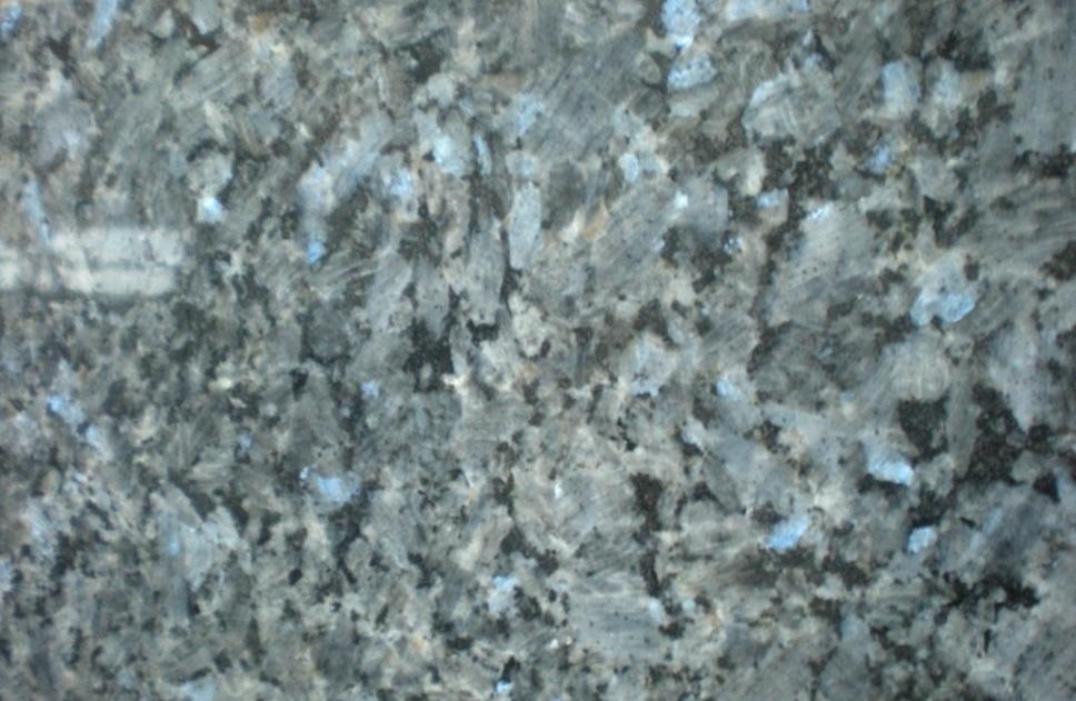granit Labrador bleu poli
